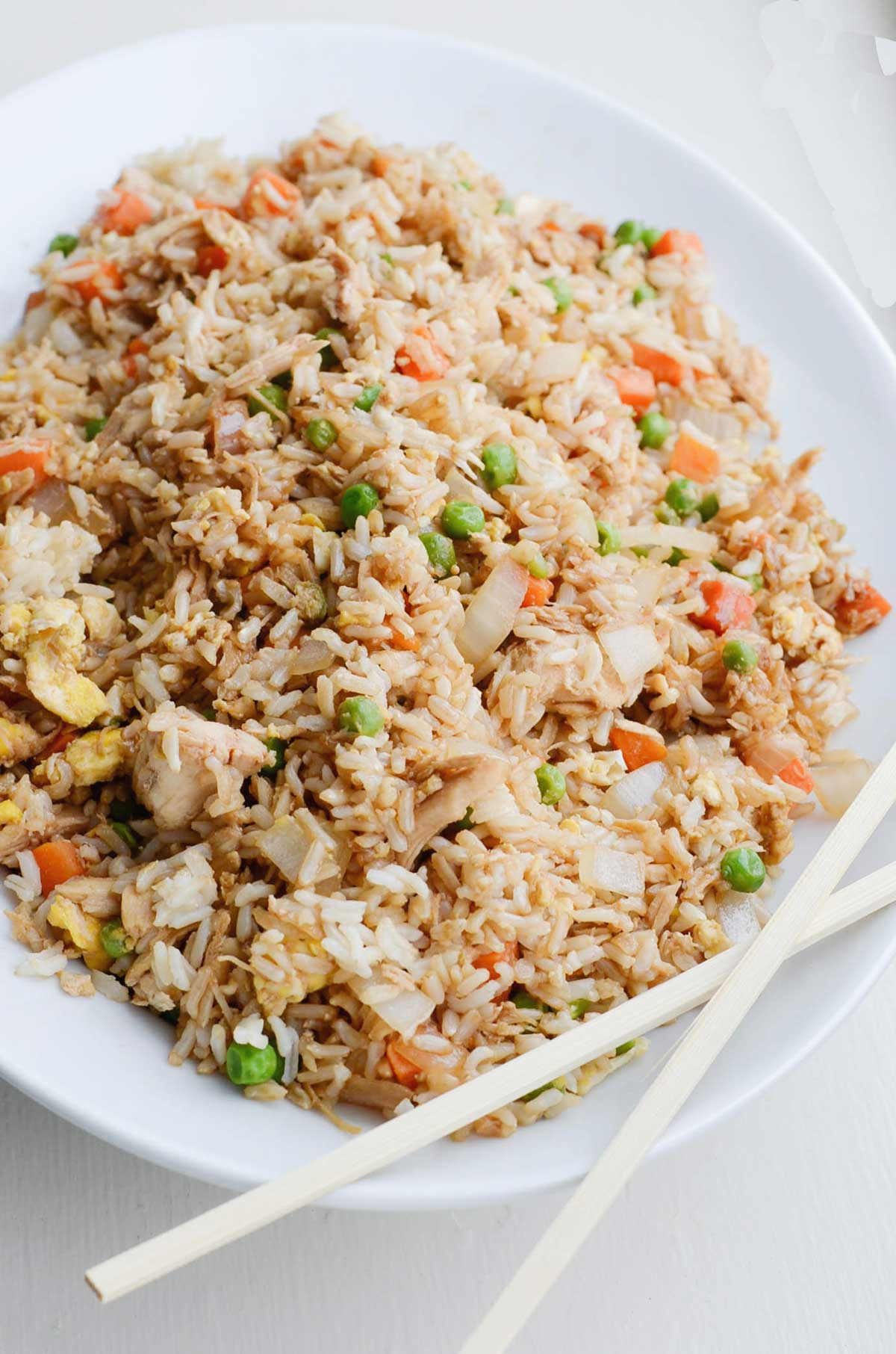 Easiest Way to Cook Appetizing Chicken vagitable Chinese rice