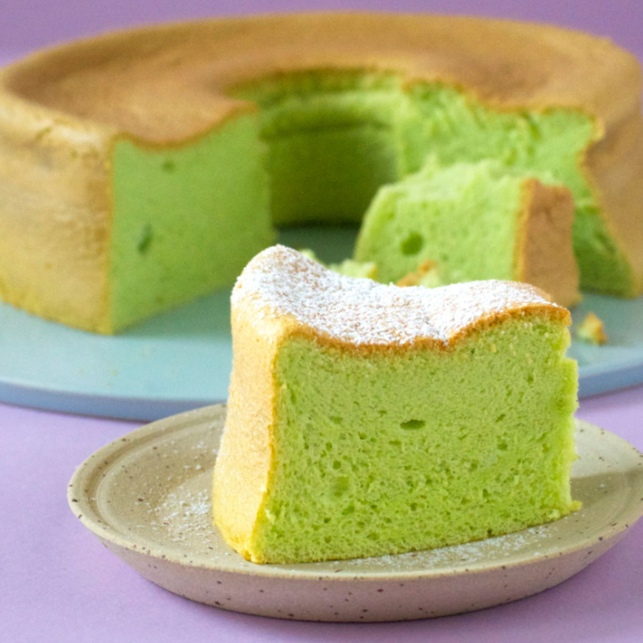 Easiest Way to Cook Delicious Pandan Cake