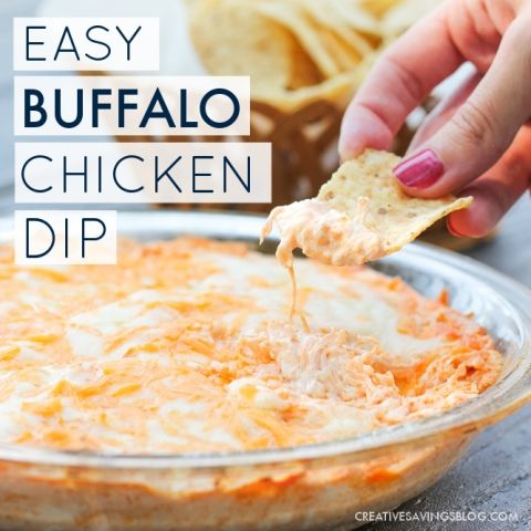 Easiest Way to Cook Tasty Simple Buffalo Chicken Dip