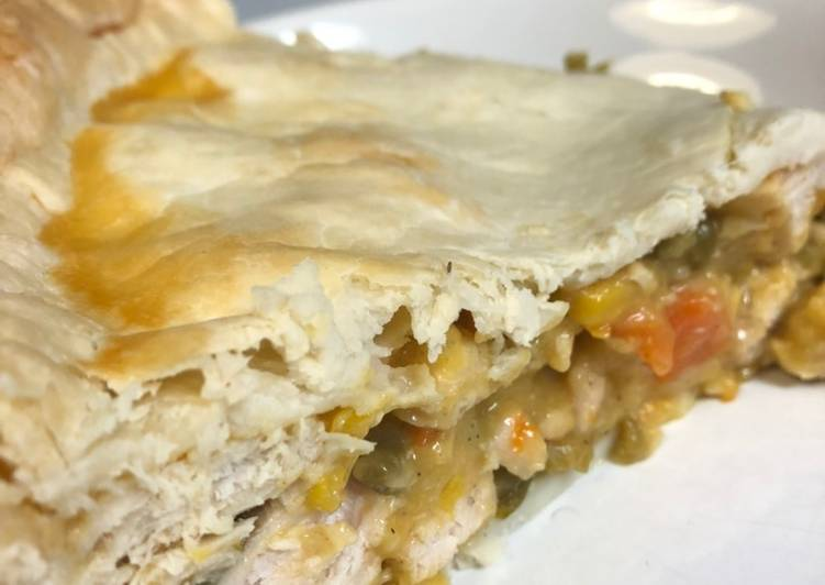 Easiest Way to Make Appetizing Easy Chicken pot pie