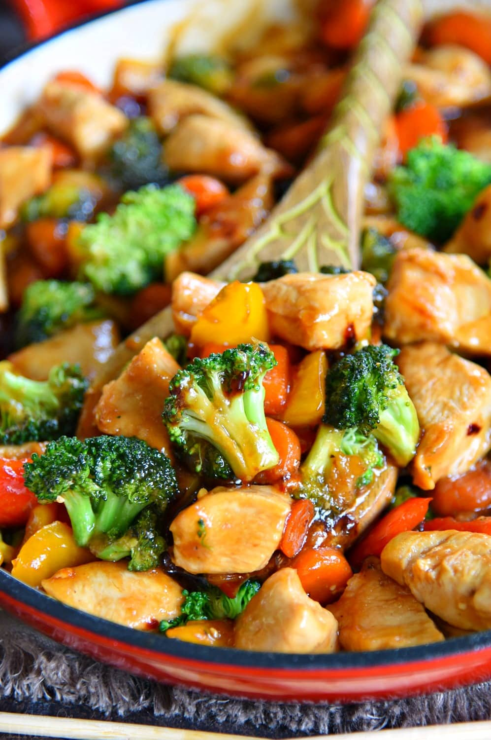 Easiest Way to Make Delicious Chicken chinese stir fry