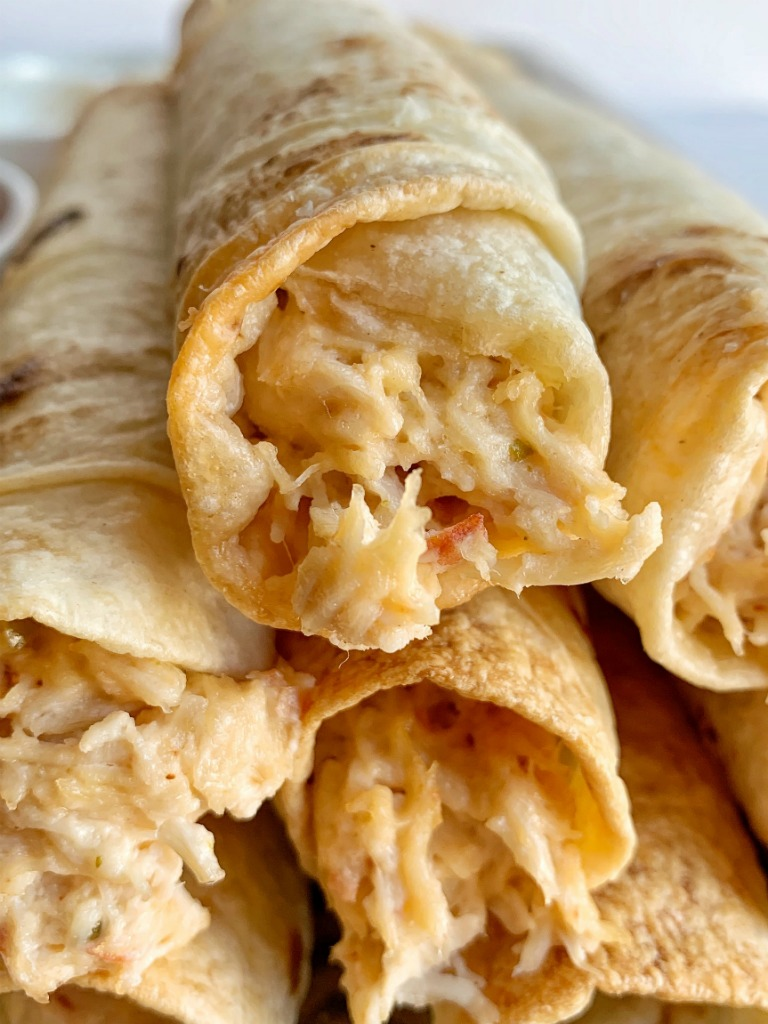 Easiest Way to Make Yummy Easy Creamy Chicken Flautas