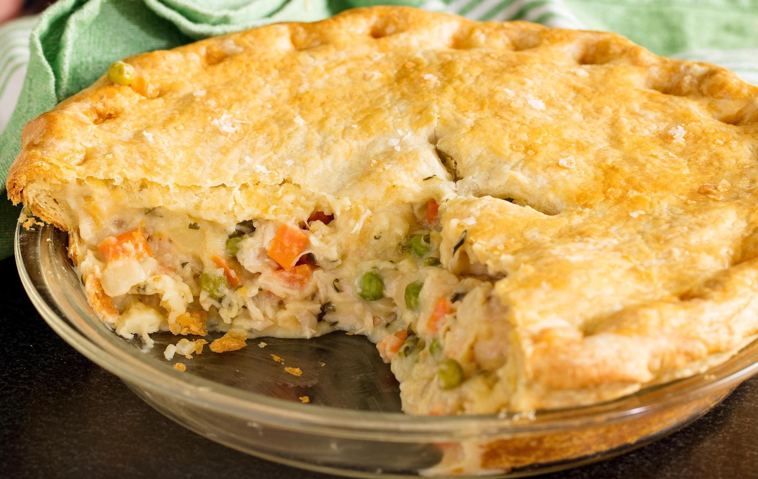 Easiest Way to Prepare Perfect Easy Chicken Pot Pie