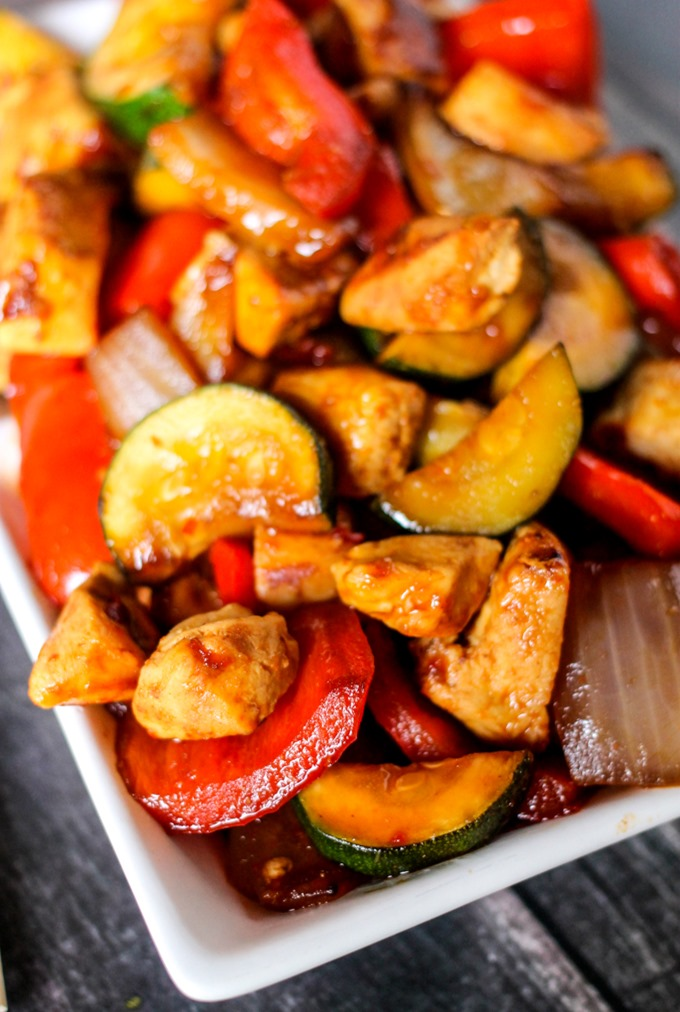 Easiest Way to Prepare Perfect Spicy Chicken Stir-fry