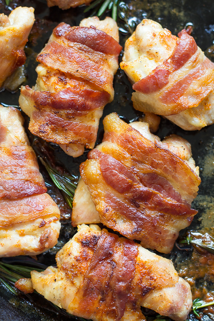 Easiest Way to Prepare Tasty Simple paleo bacon wrapped chicken