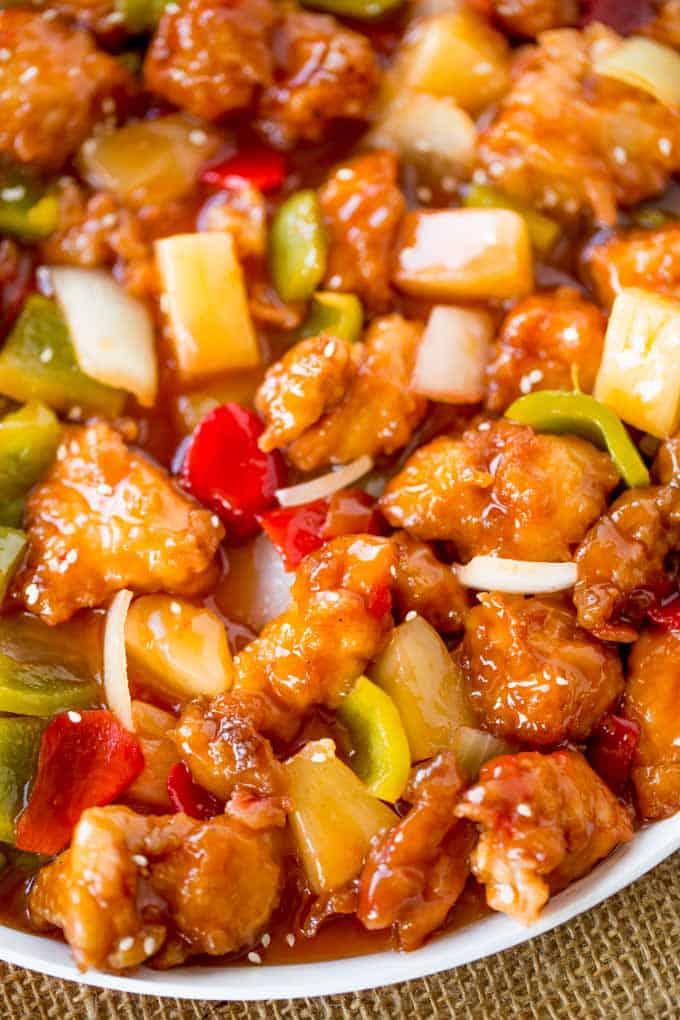 Easiest Way to Prepare Tasty sweet and sour chicken