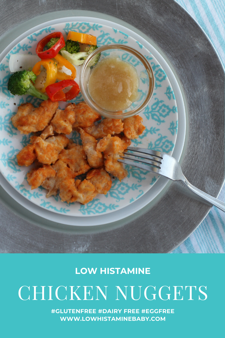 How to Cook Perfect Chicken Nuggets- low histamine, gluten free, egg free