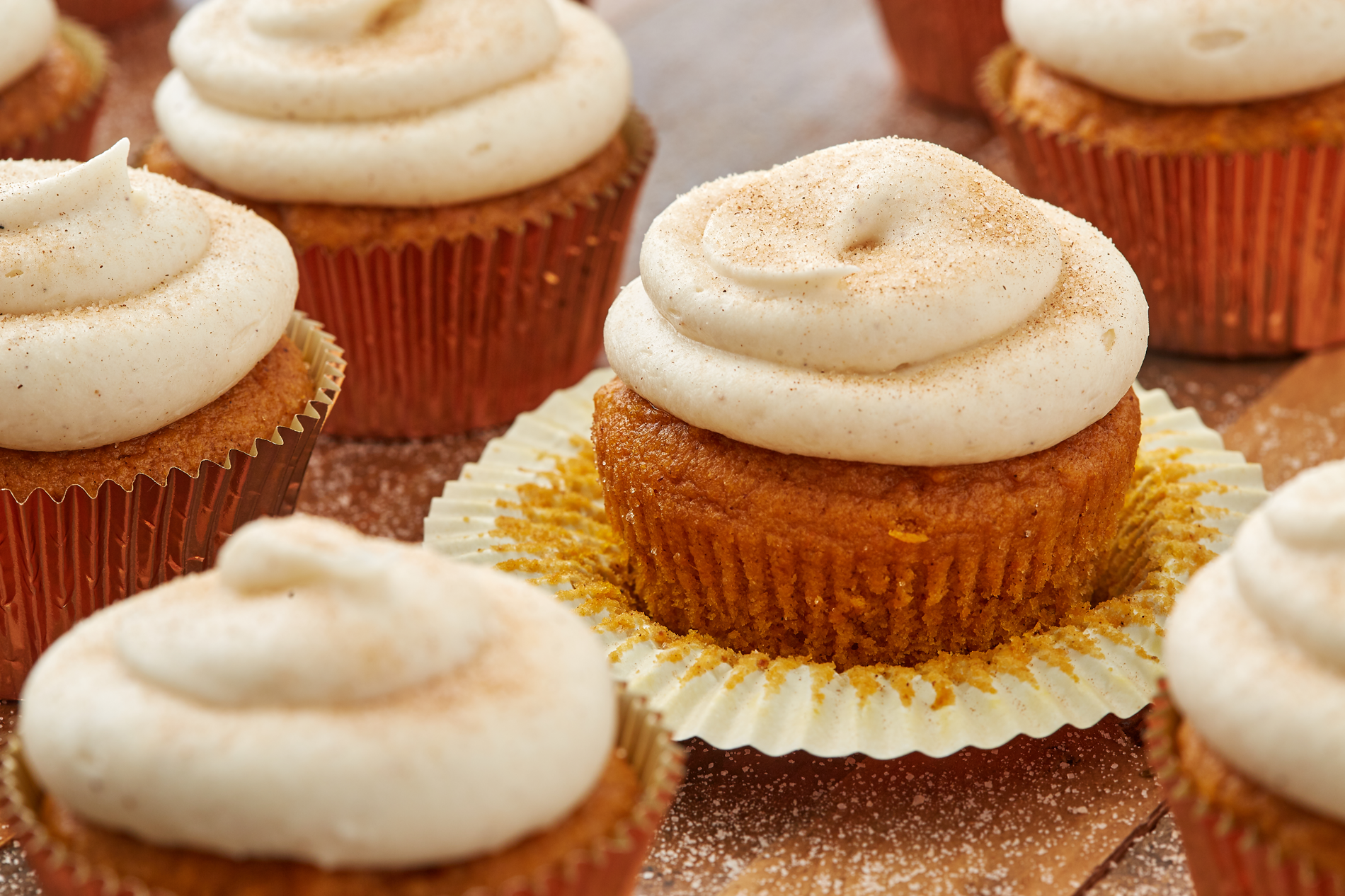 How to Cook Perfect Pumpkin Spice Cupcakes