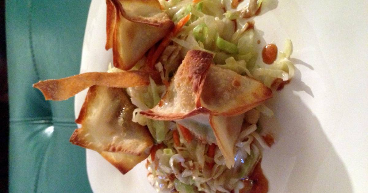 How to Cook Tasty Teriyaki Chicken And Avocado Wontons
