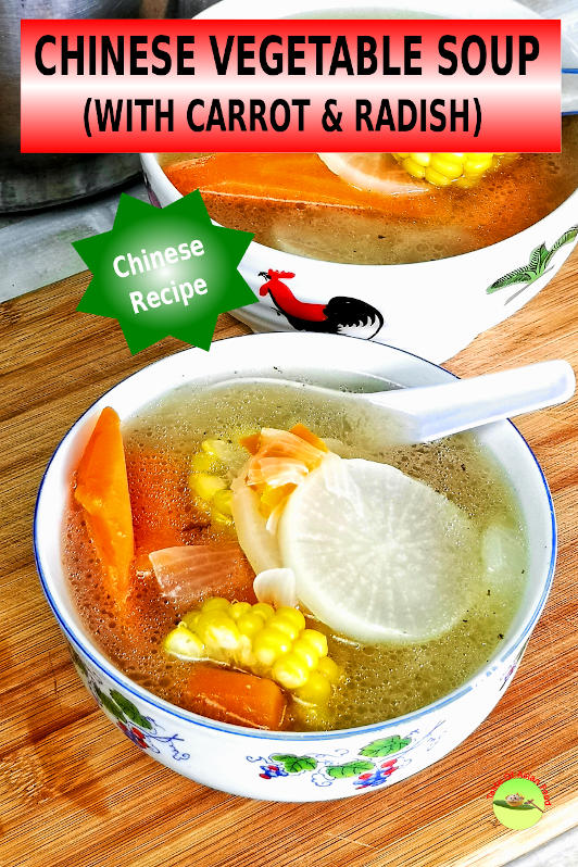 How to Cook Yummy Chinese vegetable soup