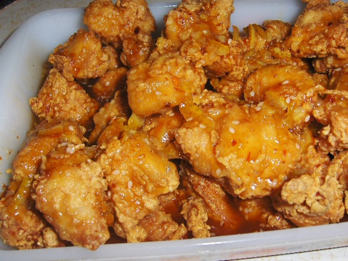 How to Make Yummy Chinese fried chicken