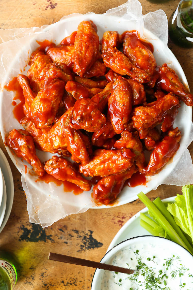How to Prepare Delicious Homemade Buffalo wings