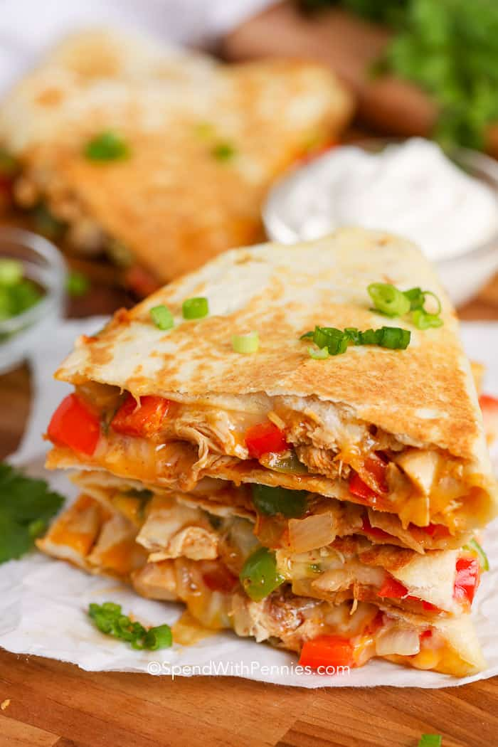 How to Prepare Yummy Lime Chicken Quesadillas