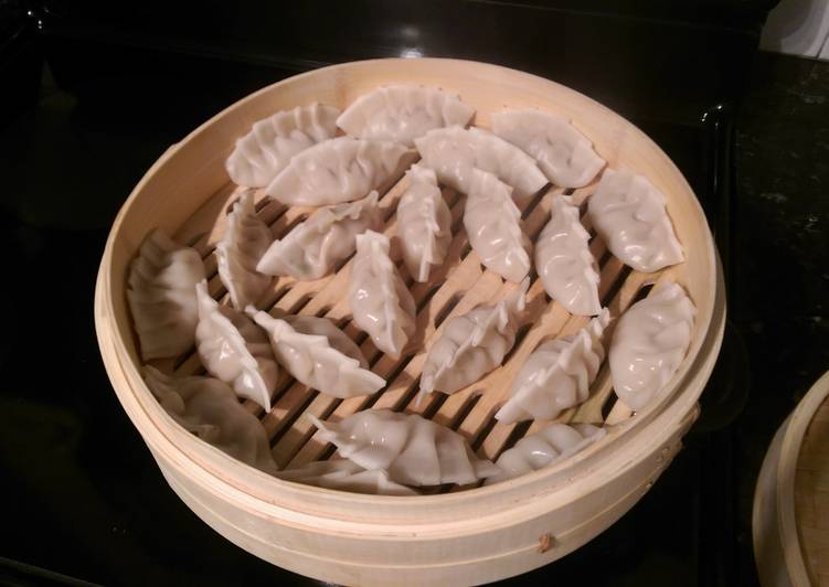 Recipe: Appetizing Clam, Shrimp, and Chicken Chinese Dumplings