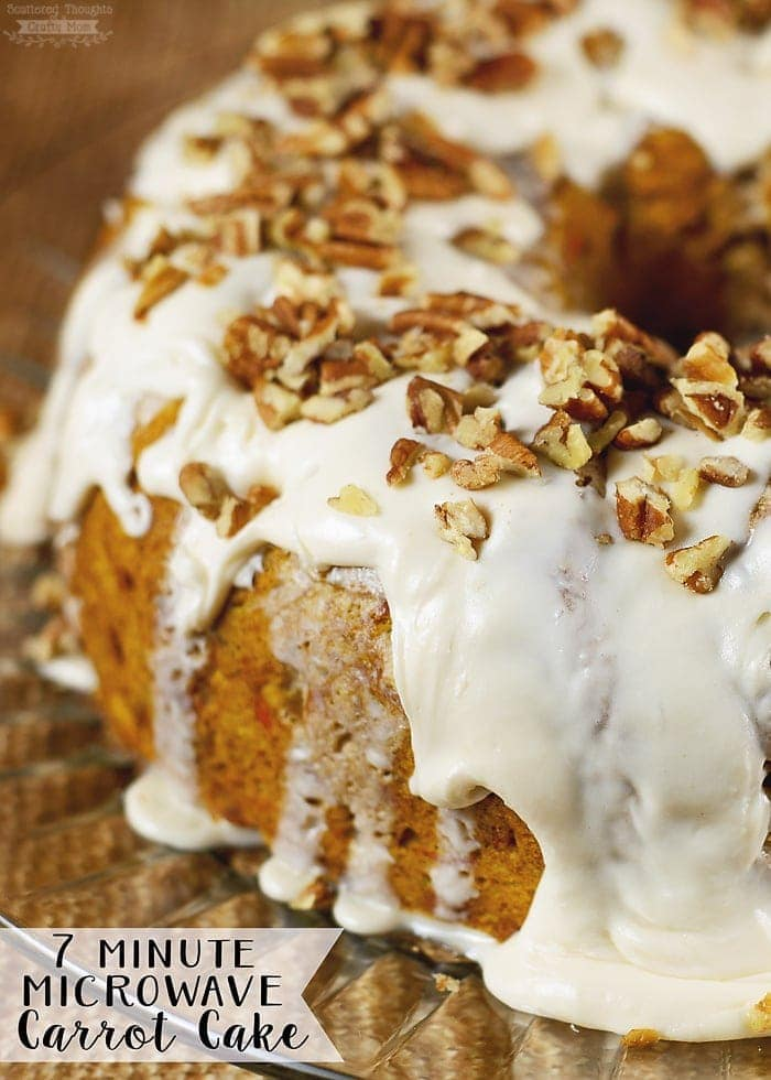 Recipe: Perfect 5 minutes MICROWAVE CARROT CAKE !