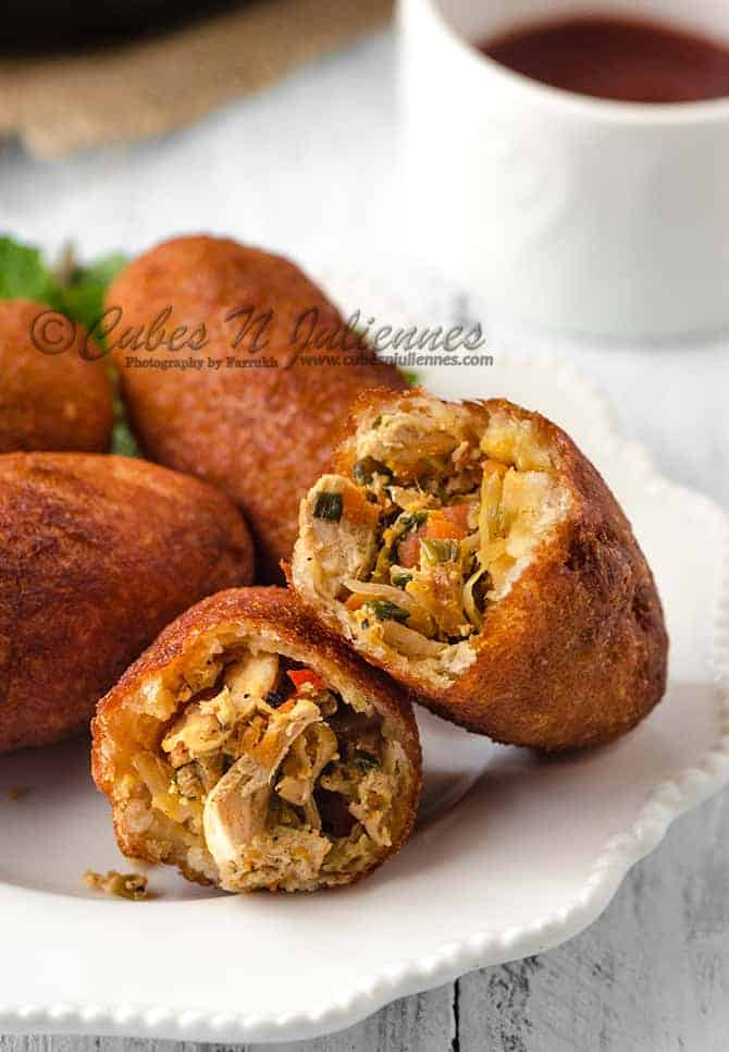Recipe: Perfect Chinese style chicken bread rolls