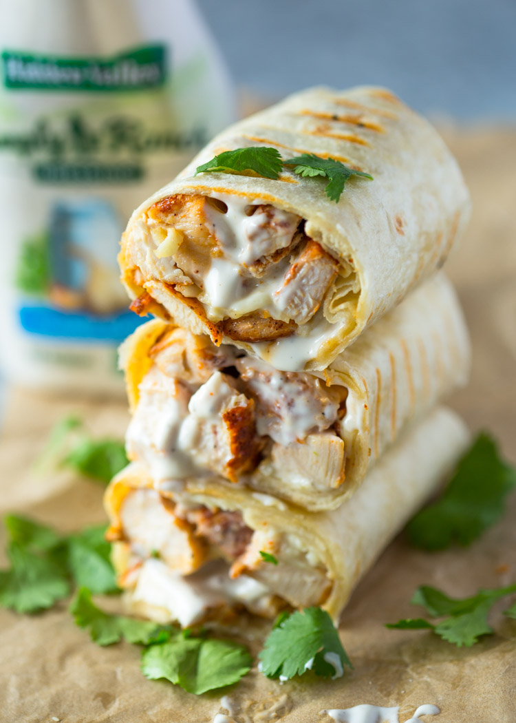 Recipe: Yummy Chicken Wrap