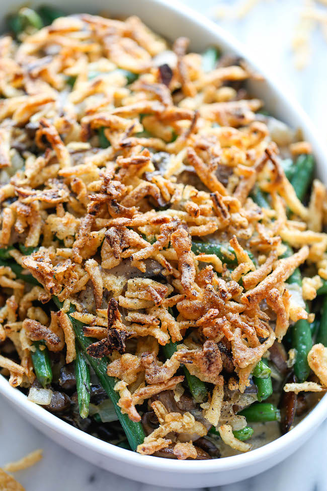Recipe: Yummy Colorful & Crunchy Easy Bake Chicken & Green Bean Casserole